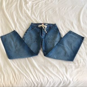 Old Navy Draw String Jeans Size 4